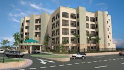 Palmaruba Entrance from Main Avenue of Palm Beach