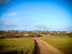 Lighthouse from north coast of Aruba
