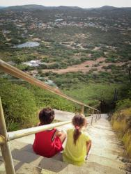 Steps of Hooiberg Aruba