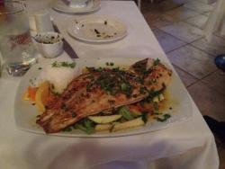 Special Red Snapper filet with butter caper sauce.jpg