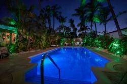 Paradera Park Poolview West at night