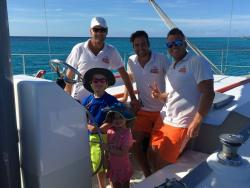 Octopus Aruba Caribbean Sailing and Snorkeling Private Sailing Sunset 6