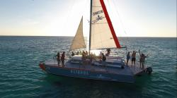 Octopus Aruba Private Sailing Sailing and Snorkeling Sunset 15